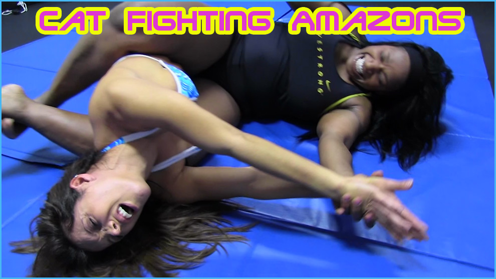 Catfighting Amazons